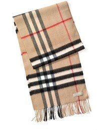 Burberry「Burberry Giant Check Cashmere Scarf(Gloves)」