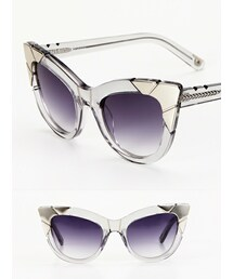 PARED EYEWEAR「Puss & Boots - Smoke Silver Metal(Sunglasses)」