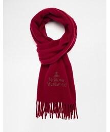 Vivienne Westwood「Vivienne Westwood Logo Scarf - Red(Gloves)」