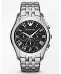 Emporio Armani | Emporio Armani Stainless Steel Chronograph Watch AR1786 - Silver(腕時計)