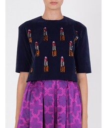 HOUSE OF HOLLAND「Velvet Lipstick Top(Other tops)」