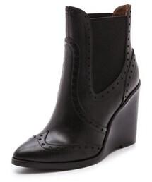 Jeffrey Campbell「Jeffrey Campbell Debonair Wedge Booties(Boots)」