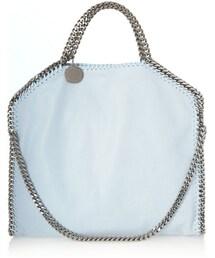 Stella McCartney「Stella McCartney The Falabella faux brushed-leather shoulder bag(Handbag)」
