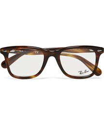 Ray-Ban「Ray-Ban Original Wayfarer Square-Frame Acetate Optical Glasses(Glasses)」