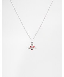Vivienne Westwood「Vivienne Westwood Rhinestone Heart Pendant Necklace - Red(Necklace)」