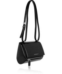 Givenchy「Givenchy Mini Pandora Box bag in black patent-leather(Handbag)」