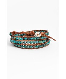 Chan Luu「Chan Luu Beaded Leather Wrap Bracelet(Bracelet)」