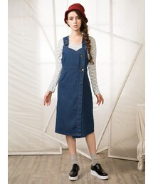 Shalexの「Shalex Denim Overall Dress(サロペット・オーバーオール)」