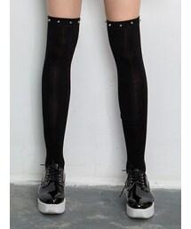 Shalexの「Studs Over The Knee Socks(ソックス/靴下)」