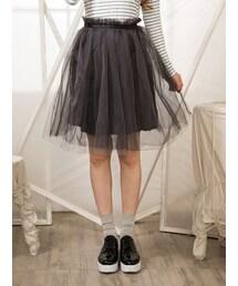 Shalexの「Tulle Midi Skirt(スカート)」