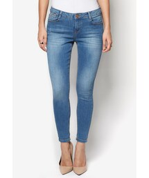 Dorothy Perkins(ドロシーパーキンス)の「Petite 'Harper' Roll Up Jeans(パンツ)」