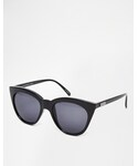 Le Specs | Le Specs Half Moon Magic Sunglasses - Black(Sunglasses)