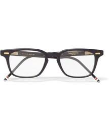 Thom Browne「Thom Browne Square-Frame Acetate Optical Glasses(Glasses)」