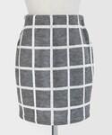 DHOLIC | ウィンドウペンチェックタイトスカート(スカート)