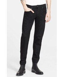 Rag and Bone「rag & bone 'Fit 1' Skinny Fit Jeans (Black)(Denim pants)」