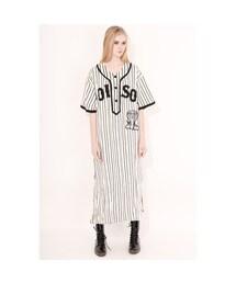 KTZ(ケイティーゼット)の「Poison Embroidered Long Baseball Shirt(トップス)」