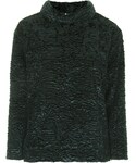 Topshop | Long sleeve funnel neck luxe sweater. 68% acetate, 15% polyester, 9% nylon, 8% cotton. machine washable.(Knitwear)