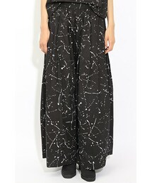 IKUMI(イクミ)の「IKUMI Paint Print Wide-leg Pants(パンツ)」