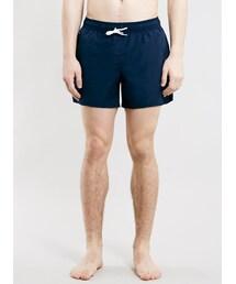 Topman「Navy Plain Swim Shorts(Swimwear)」
