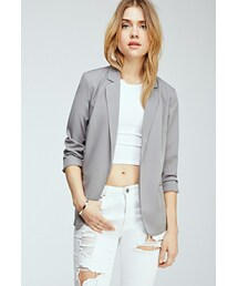 Forever 21「FOREVER 21 Classic Open-Front Blazer(Tailored jacket)」