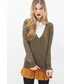 Forever 21「FOREVER 21 Deep V-Neck Sweater(Knitwear)」
