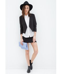 Forever 21「FOREVER 21 Ruched Sleeve Blazer(Tailored jacket)」