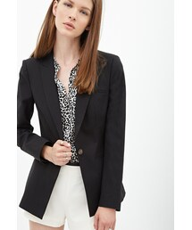 Forever 21「FOREVER 21 Classic Woven Blazer(Tailored jacket)」