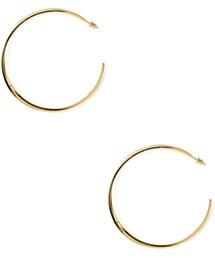 Forever 21「FOREVER 21 Crisscross Hoop Earrings(Pierces (both ears))」