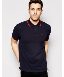 Ben Sherman「Ben Sherman Polo Shirt with Twin Tip(Polo)」