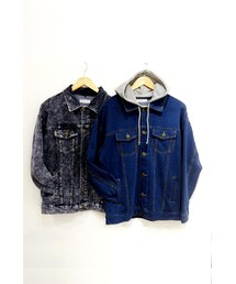 WEGO(ウィゴー)の「WEGO Hooded Denim Jacket(その他)」