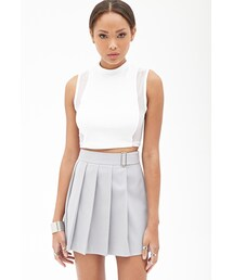 Forever 21「FOREVER 21 Pleated Mini Skirt(Skirt)」