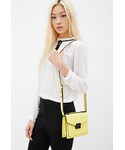 Forever 21「FOREVER 21 Pebbled Faux Leather Crossbody(Shoulderbag)」