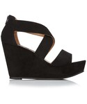 Forever 21「FOREVER 21 Strappy Wedge Sandals(Sandals)」