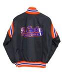 VINTAGE「90's USA製HARVARD サテンスタジャン Mハーバード(Baseball jacket)」