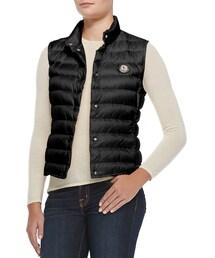 Moncler「Moncler Liane Puffer Vest, Black(Down vest)」