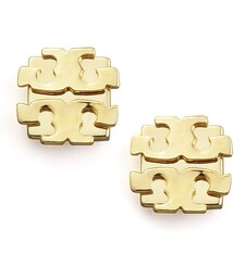 Tory Burch「Tory Burch Logo Earrings, Large(Pierces (both ears))」