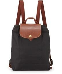 Longchamp「Longchamp Le Pliage Nylon Backpack, Black(Baby goods)」