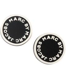 Marc by Marc Jacobs「MARC by Marc Jacobs ENAMEL LOGO DISC STUD EARR(Pierces (both ears))」