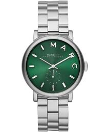 Marc by Marc Jacobs「MARC by Marc Jacobs 36mm Baker Bracelet Watch, Green/Steel(Watch)」