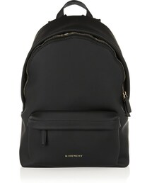 Givenchy「Givenchy Backpack in black coated canvas(Baby goods)」
