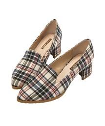 GraceGift「實搭俐落樂福跟鞋(Shoes)」