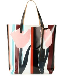 Marni「Marni Tulip-Print PVC Shopping Bag, Multi(Tote)」