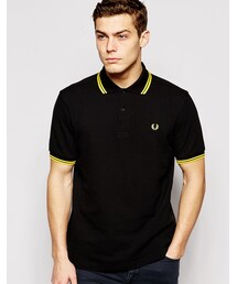 Fred Perry「Fred Perry Twin Tip Polo in Regular Fit(Polo)」