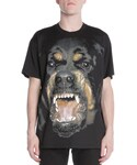 Givenchy「Givenchy Snarling Rottweiler Dog Jersey Tee, Black(T Shirts)」