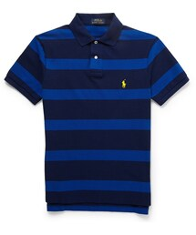 Polo Ralph Lauren「Polo Ralph Lauren Striped Cotton-Pique Polo Shirt(Polo)」