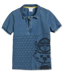 Little Marc Jacobs「Little Marc Jacobs Scuba-Graphic Polo Shirt, Blue, Size 2-10(Polo)」