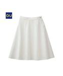 GU | (GU)デニムフレアミドルスカートA(WOMEN⁄スカート)