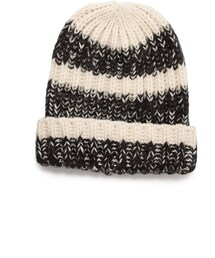 Forever 21「FOREVER 21 Marled Striped Beanie(Hats)」