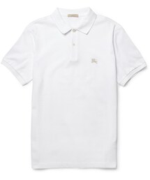 Burberry「Burberry Brit Cotton-Piqué Polo Shirt(Polo)」
