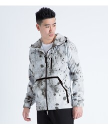 MAGIC STICK「White Splatter Lined Wind Runner Jacket(Others)」